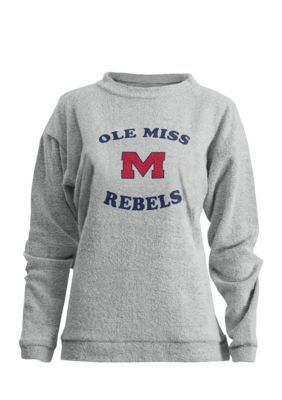 Royce Ole Miss Rebels Midway Comfy Terry Top - Oatmeal - Xl