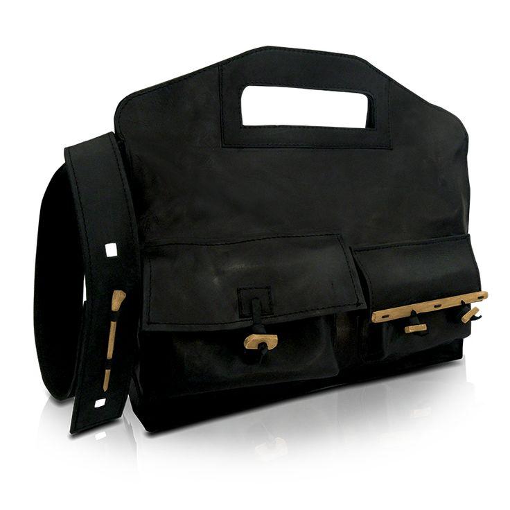 Men's handmade messenger bag! http://larou.gr/product/larou-zerotwo24/