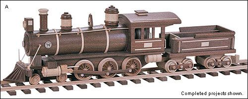 wood toy plans kits | Toy Plans & Kits — Railroad Vehicles - Lee Valley Tools