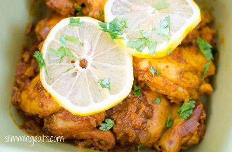 Slimming Eats Lemon Chilli Chicken - gluten free, dairy free, whole30, paleo, Slimming World (SP) and Weight Watchers friendly