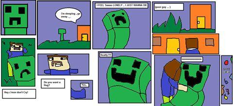 Minecraft cómico