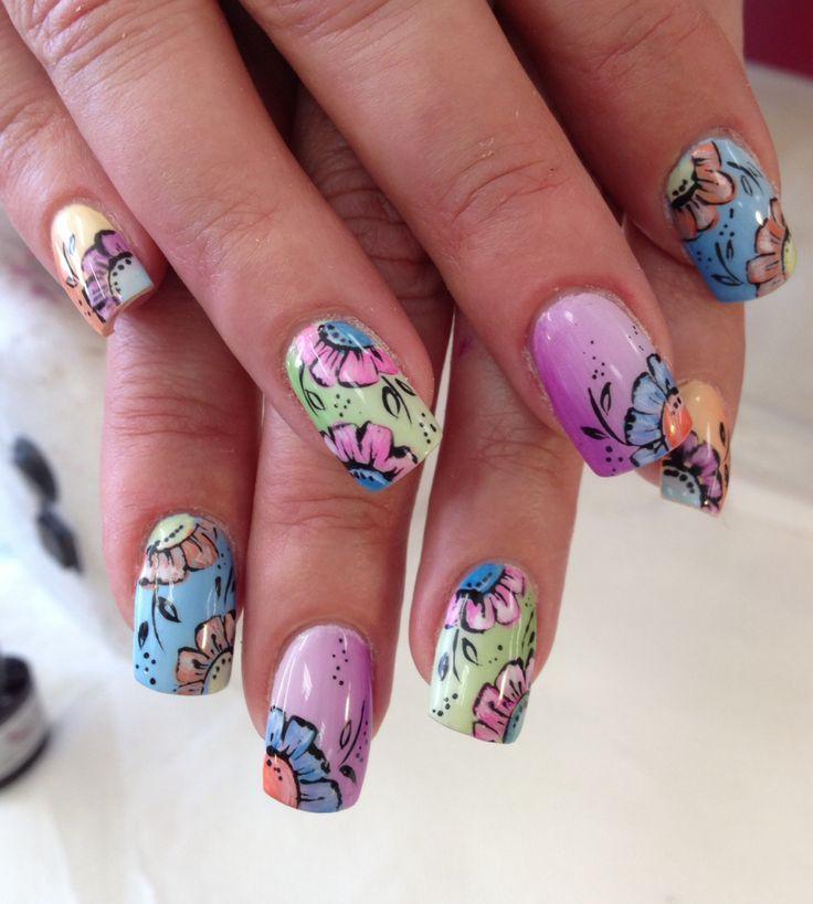 Spring nails#nailart
