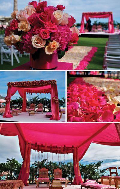 Beautiful Indian Wedding Ceremony in Hawaii