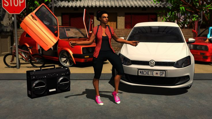 How To Dance Like A Skhothane In South Africa - Animated Video Woza Baza...