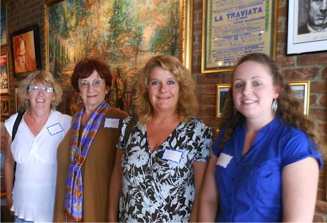Attndees at the  Sister Cities Meet & Greet at Carigiuios on Palm Ave. in downtown Sarasota