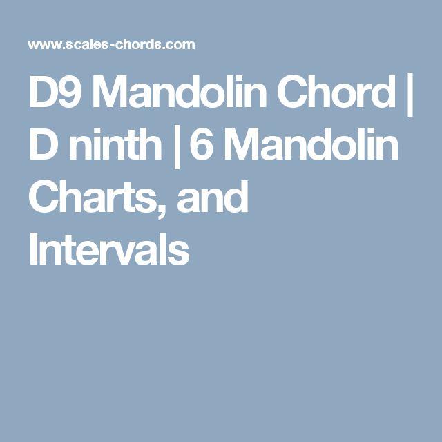 D9 Mandolin Chord D ninth 6 Mandolin Charts, and Intervals - mandolin chord chart