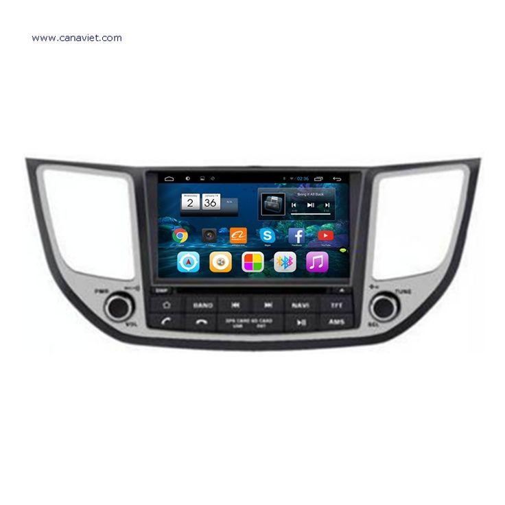 android autoradio headunit car stereo radio audio dvd gps navigation head unit car multimedia gps hyundai ix35 tucson 2015 2016 2017