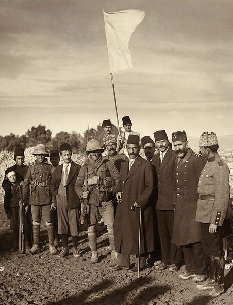 The Ottoman surrender of Jerusalem to the British, December 9, 1917