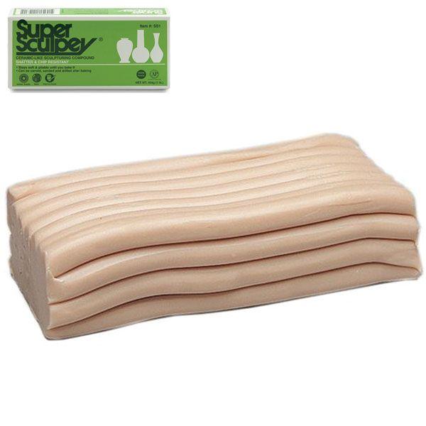 Super Sculpey - 1Lb