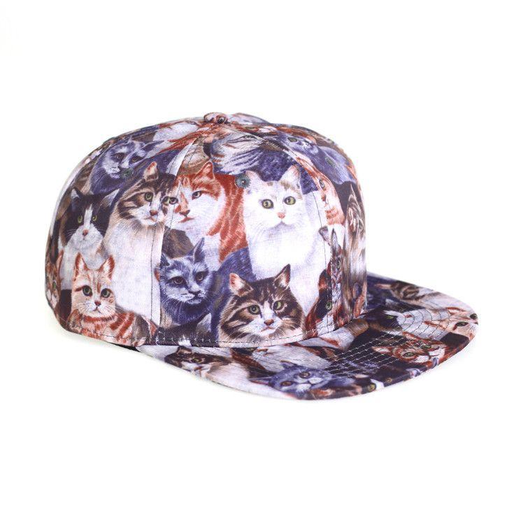 Cats Snapback Hat - READY TO SHIP  395e34266de8