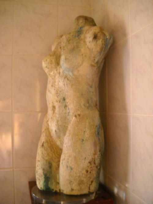 Other Artwork - Life-size 'Venus' Female Torso Figure mounted on a Stand 20th century - make an offer for sale in Cape Town (ID:152764936)