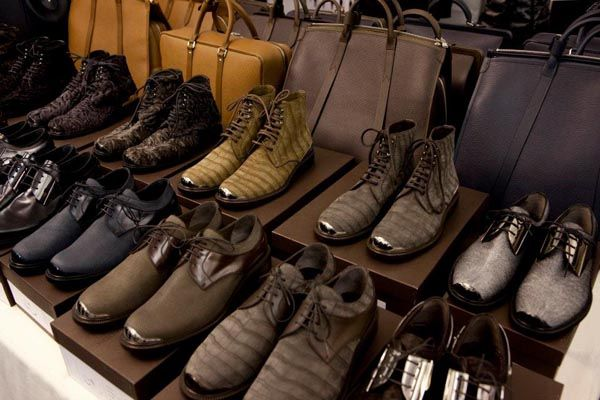 Luis Vuitton Fall 2012 men's shoe line