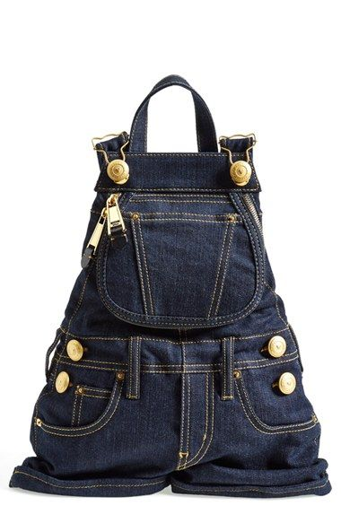 Moschino 'Overalls' Backpack available at #Nordstrom