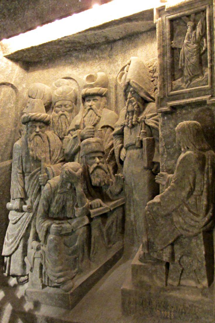 Les mines de sel de Wieliczka, près de Cracovie, exploitées depuis plus de 700 ans! Pologne - salt mines- Kopalnia Soli Wieliczka
