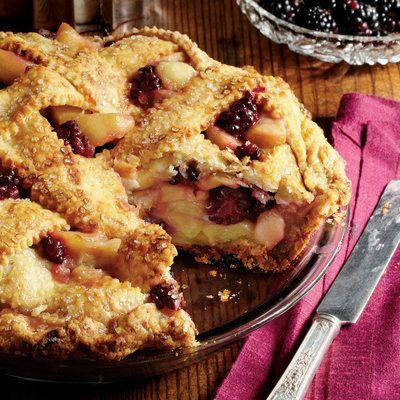 Blackberry-Apple Pie - Splurge-Worthy Thanksgiving Dessert Recipes - Southern Living