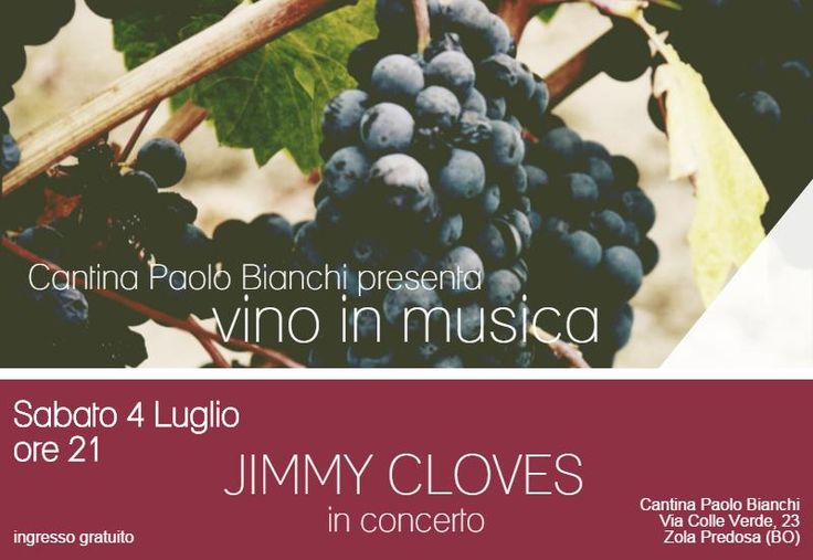 Vino in Musica: intervista a Jimmy Cloves