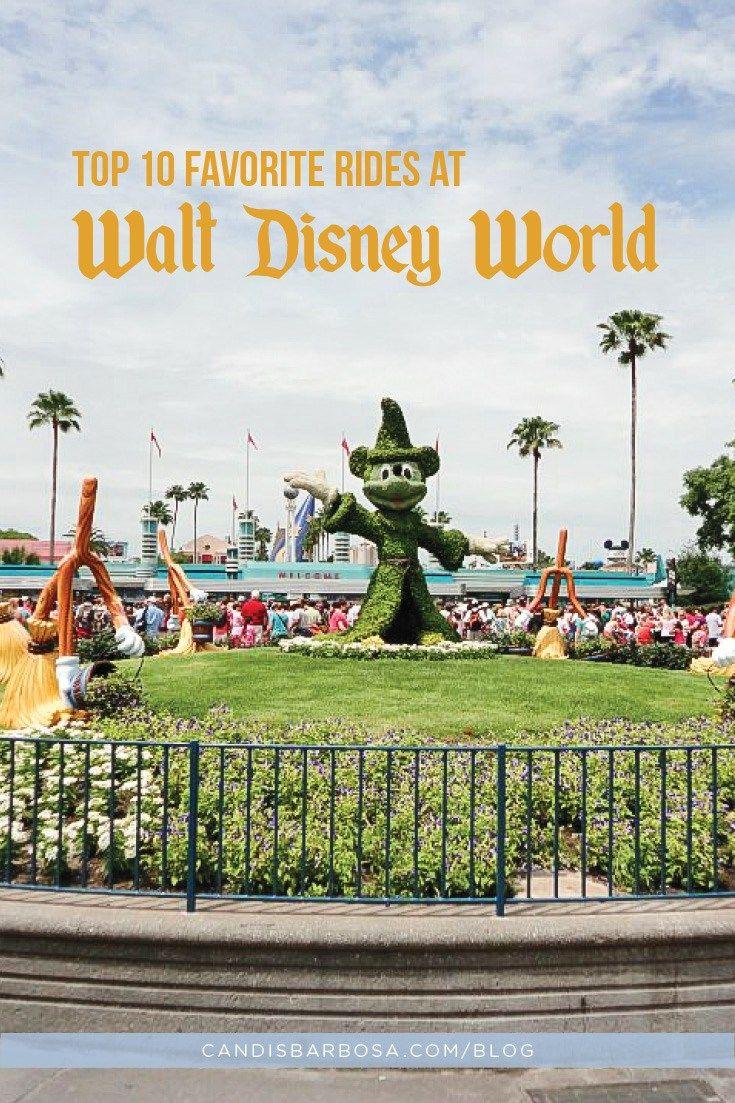 Top 10 Favorite Rides at Walt Disney World