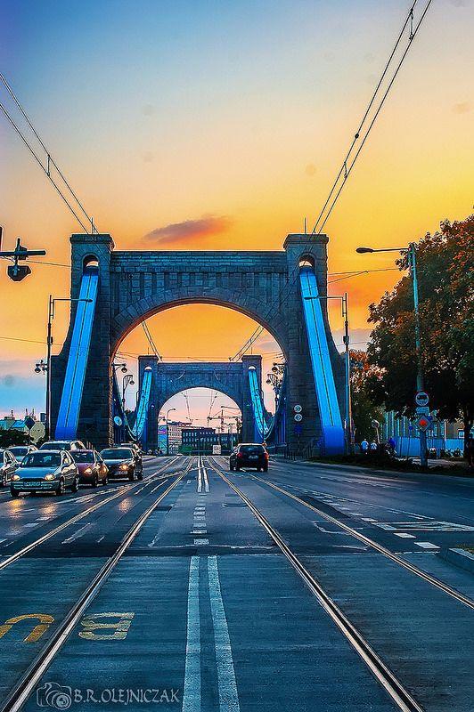 Most Grunwaldzki Wrocław   by fotbarto