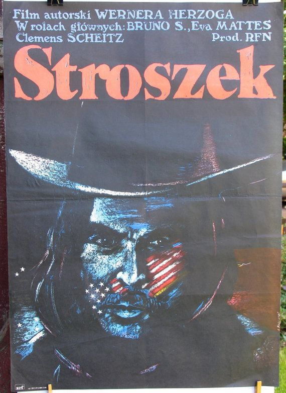 Poster. West Germany 1977s film  STROSZEK by Werner by artwardrobe, $99.99