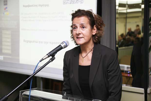 Αναστασία Μαρκάκη   Γενική διευθύντρια για την Ελλάδα και την Κύπρο του μεγαλύτερου B2B online καταλόγου της Ευρώπης EURO PAGES