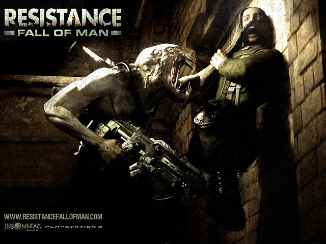 Resistance Fall of Man Game Wallpaper by Farazsiyal, via Flickr