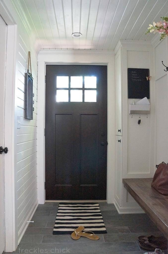 Front Foyer Storage : Diy mudroom entryway storage ideas for very small