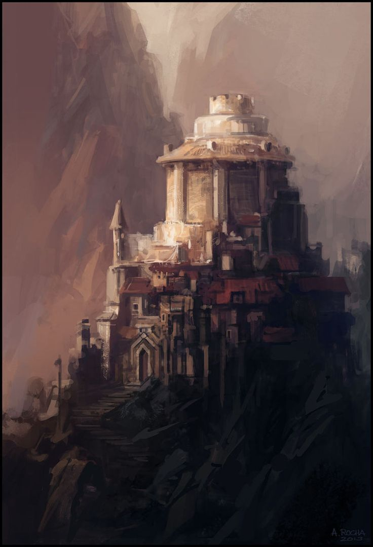 The Keep II by *andreasrocha on deviantART