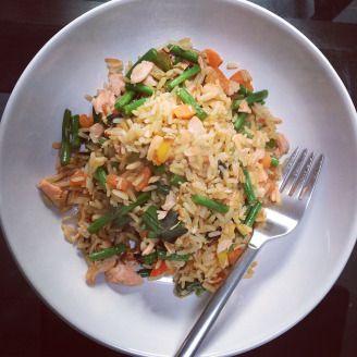 YO! FODMAP Salmon Firecracker Rice: Low-FODMAP Recipe | FODMAP Journey