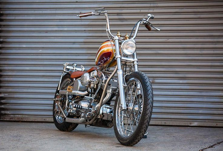 The Best Vintage Motorcycles For Sale On eBay, 12/30/14  1977 Harley Davidson Pan-Shovel by Keino Cycles Any bike by Keino Cycles is bound to be one of the best in the world, and this Harley's no different. Everything that's not painted is either chromed or polished to a mirror-like sheen...including the clutch. This bike was built for the sole purpose of winning shows. The fact that it drives great, thanks to a beefier engine and a more modern transmission, is just a huge bonus.