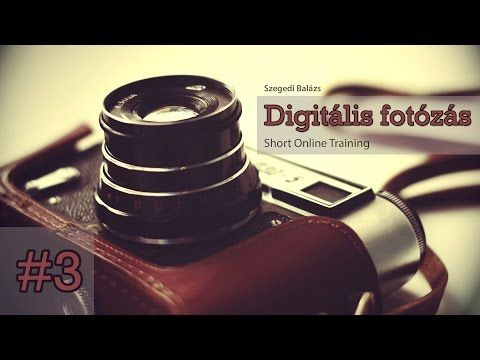 Digitális fotózás - Kompozíciós szabályok - YouTube