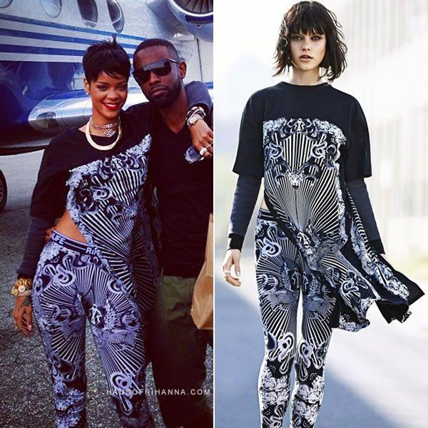 Rihanna wearing Rihanna for River Island