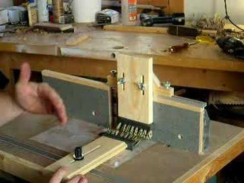 Router table tricks youtube wood working pinterest for Table 6 trick