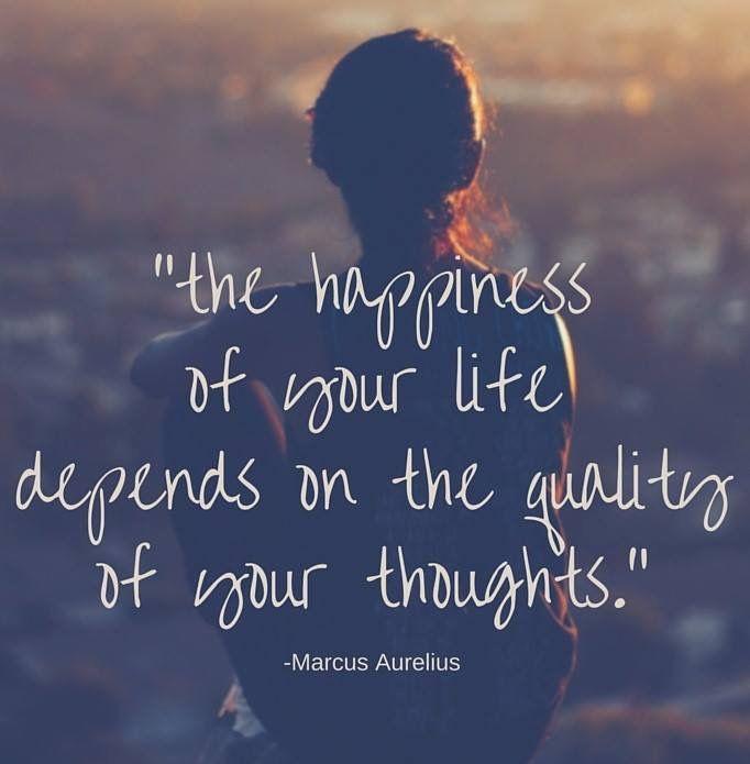 Wees de baas over je eigen gedachten. Laat niet de gedachten de baas zijn over jou!