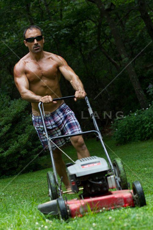46 best men mowing lawn lawnmowers lawn mower images on pinterest