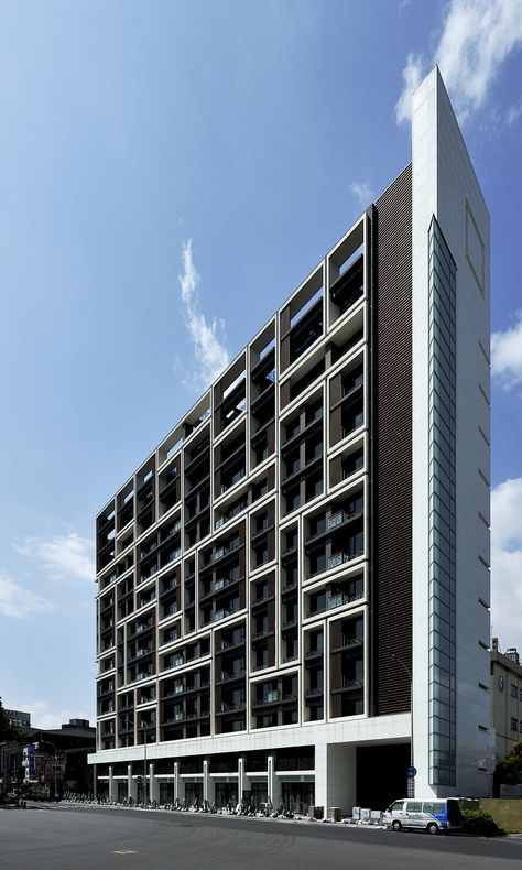 Built by Chin Architects in Shilin District, Taiwan with date 2012. Images by Jeffrey Cheng. At Kuo Yang Tien Mu, which is located at an important urban junction in Taipei, Taiwan, we attempt to transform the b...