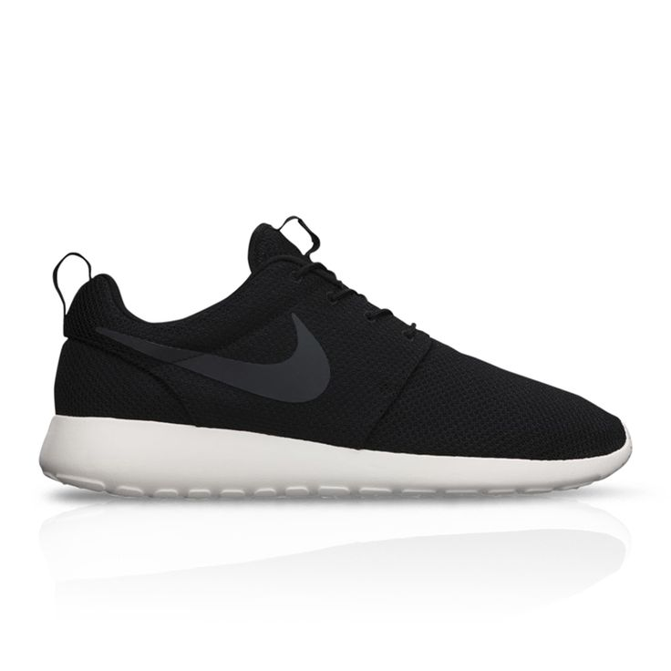 With a full mesh upper and Phylon midsole, the Nike Roshe One offers  breathability and lightweight impact protection. This sneaker is intended  to be ...