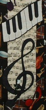 Music Music  - Quilted Wall Hanging Pattern. $6.50, via Etsy.