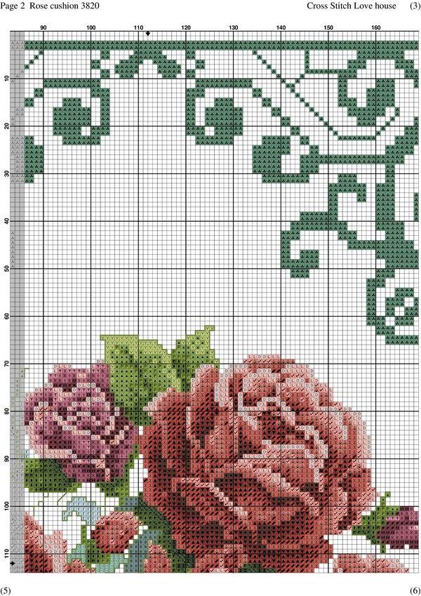Rose cushion-002