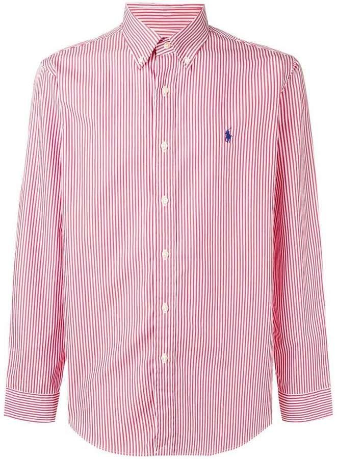 09acbdc9eae80 Polo Ralph Lauren Striped Poplin Shirt em 2019