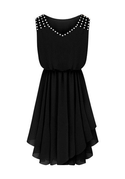 1000  ideas about Black Chiffon Dresses on Pinterest | Chiffon ...