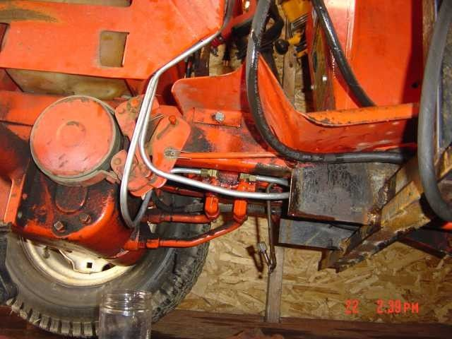 Homemade Case/Ingersoll Front end loader - Lawn Mower Forums : Lawnmower Reviews, Repair, Pricing and Discussion Forum