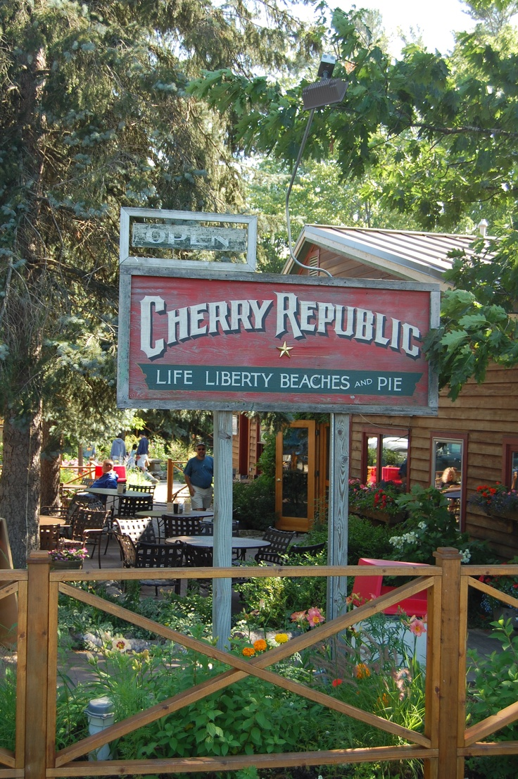 Cherry Republic Products, Glen Arbor, MI . Must have the Cherry Bread.