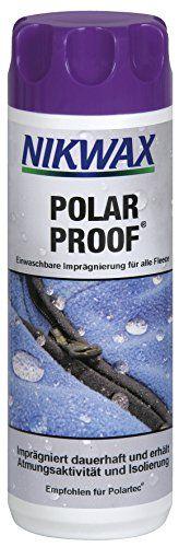 Nikwax lavado prueba polar en impermeabilizante