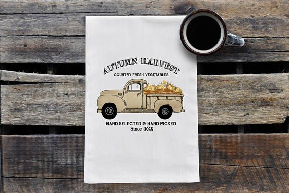 Hey, I found this really awesome Etsy listing at https://www.etsy.com/ca/listing/548793444/autumn-harvest-tea-towel