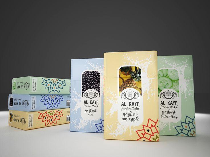 Al Kayf Tobacco Ambalaj Tasarımı