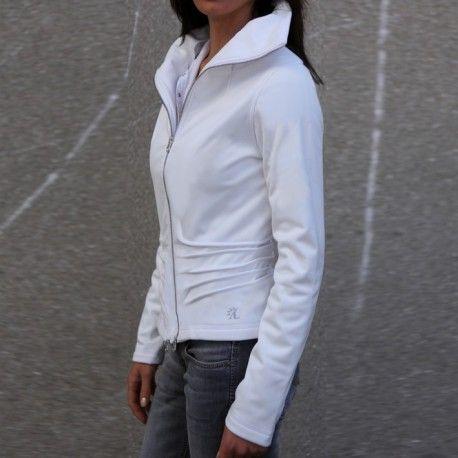 Veste Sportswear équitation Alexandra Ledermann Sportswear : Bonnie Blanc