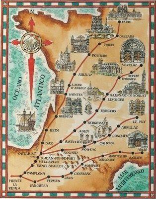 Como ya hemos comentado en alguna ocasión, en Francia existencuatro caminos o rutas principales de peregrinación a Santiago de Composte...