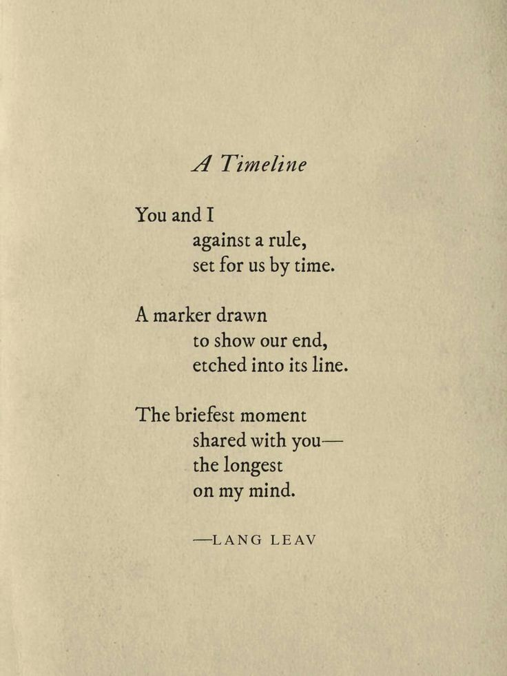 The briefest moment shared with you... the longest on my mind.