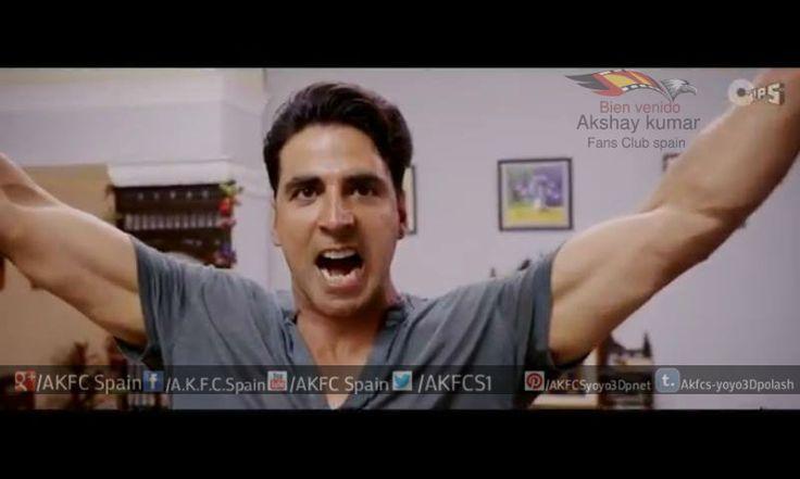 Akshay Kumar sir It's Entertainment Trailer photo's & Dialogues  Aad  yah slumdog,  millionaire  ban gaya