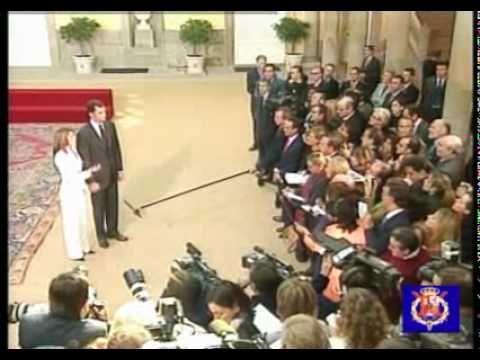Prince Felipe and Letizia Ortiz's Petición de Mano / Engagement Interview